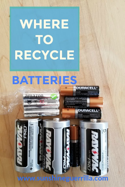 Where to Recycle Batteries