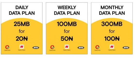 Opera Partners With MTN to Introduce New Affordable Data Plans
