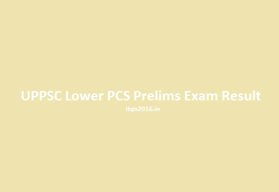 Lower PCS Prelims Exam