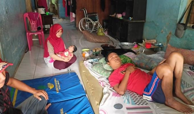 5 Bulan Derita TBC Tulang, Warga tidak Mampu di Tegal Kembang Walantaka ini Berharap Perhatian dari Pemerintah