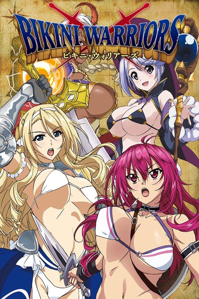 cover anime Bikini Warriors