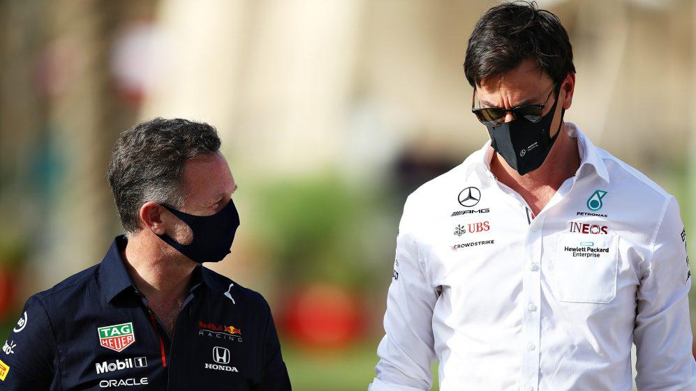 Rivalidade intensa com o chefe da Red Bull, Horner, exatamente o que o médico receitou, diz Wolff, chefe da Mercedes