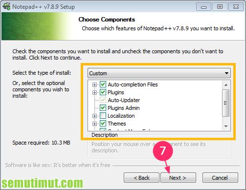 cara menginstall aplikasi notepad