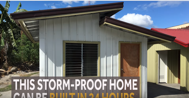 For sale bahay tibay php145 000 storm proof house in the philippines - Hurricane proof homes design ...