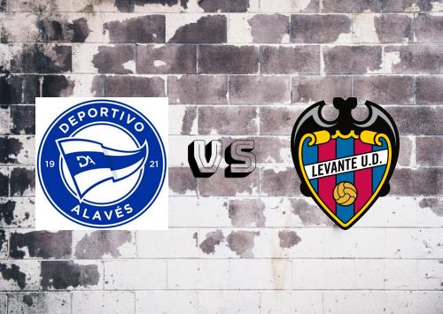Deportivo Alavés vs Levante  Resumen