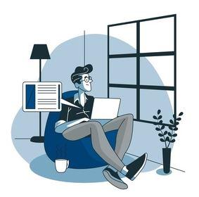 contoh bisnis online 2020-blogger