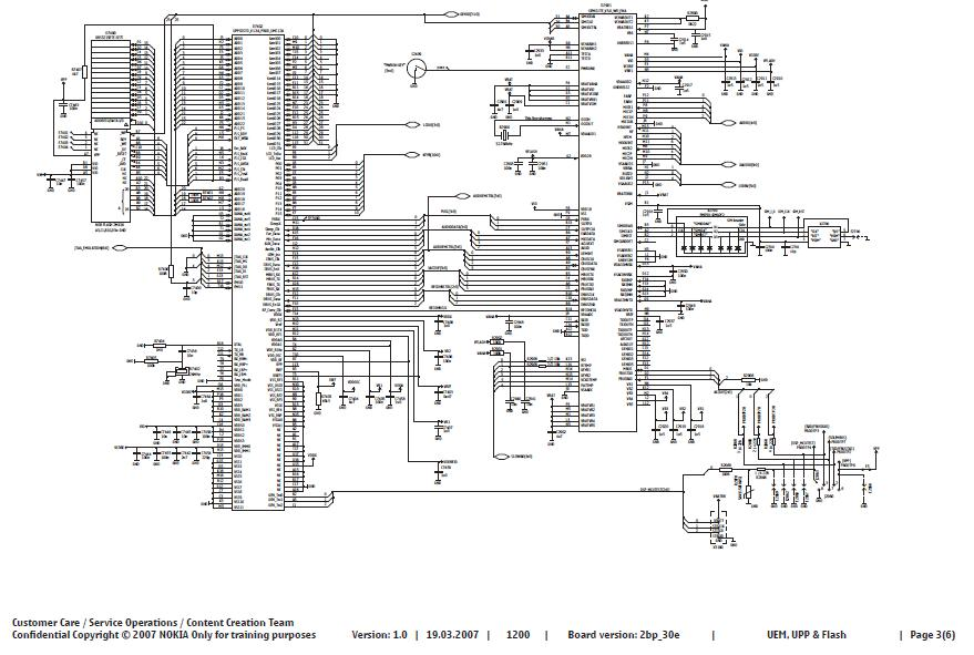circuit diagram nokia