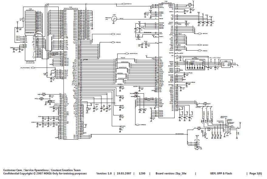 Skema Nokia 12001208  Phone Diagram
