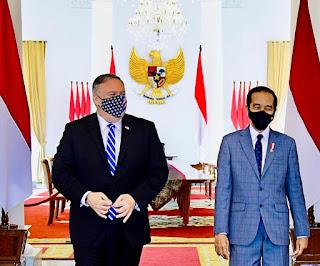Terima Kunjungan Menteri Luar Negeri AS, Presiden Bahas Kerja Sama Ekonomi hingga Pertahanan