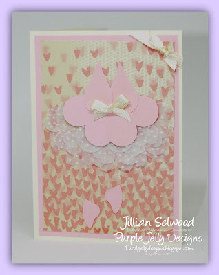 Sweetheart Punch, Pansy Punch, Pink Pirouette cardstock