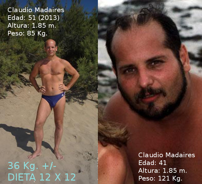 bajar 40 kilos en un ano