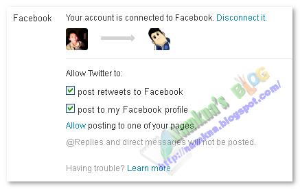 Tự động đăng bài từ blog/website lên: Facebook, Twitter và Digg