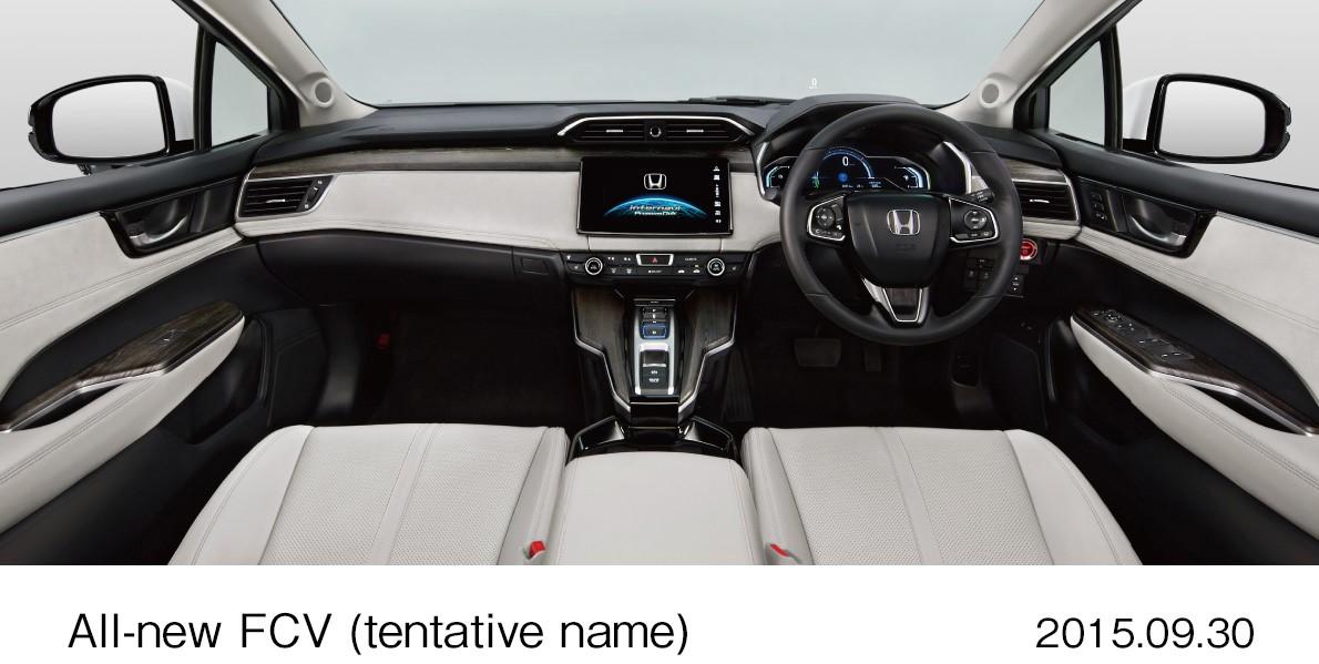 61923 Global debut of Honda s all new FCV vehicle Η Honda θα παρουσιάσει το S660, ενα λιλιπούτειο διθέσιο roadster με 63 άλογα από μολις 658 κ.εκ