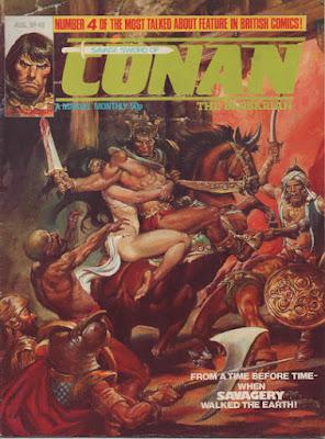 Savage Sword of Conan #46
