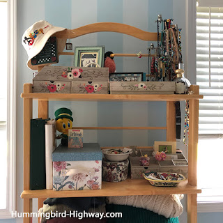 organize with boxes