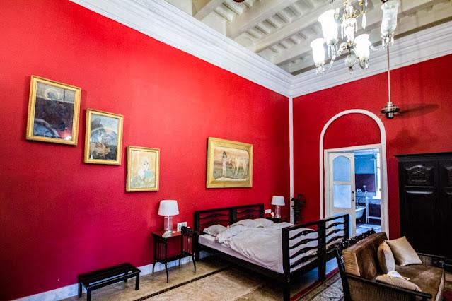 Bengal Renaissance room of Belgadia Palace