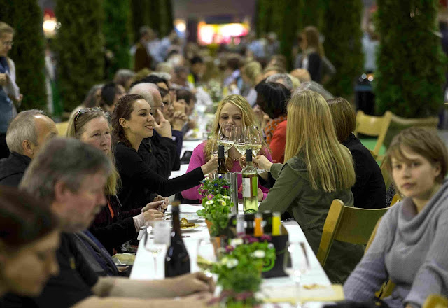 Die Slow Food Messe Markt des guten Geschmacks in Stuttgart