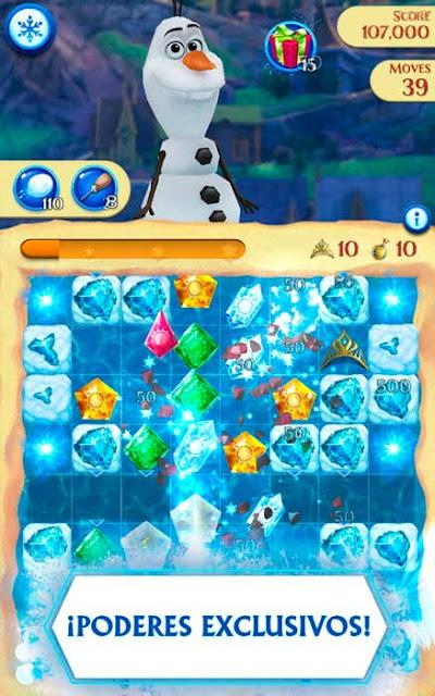 disney frozen free fall juego sin conexion