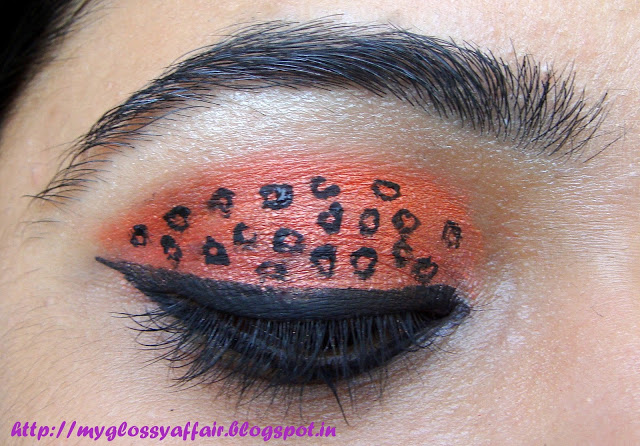 Leopard Print Eye Makeup - EOTD 4