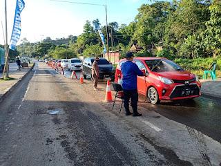 20 Ramadhan, Operasi terpadu Ops Ketupat 2020, Polres Pangkep intens laksanakan Pemeriksaan yang Melintas