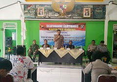 Silaturahmi Kamtibmas Kapolres Batang Bersama Warga Masyarakat Gringsing