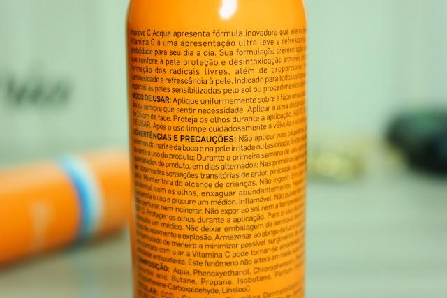 Vitamina C, Dermage, bruma antioxidante, pele hidratada, combater os radicais livres, pele mais lisa, mais luminosa