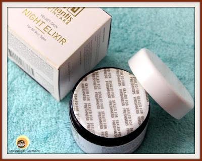 Atlantis Skincare Velvet Skin Night Elixir Packaging
