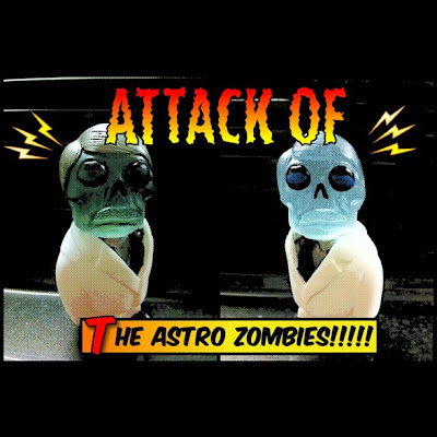 Astro Zombie Resin Figures by Motorbot