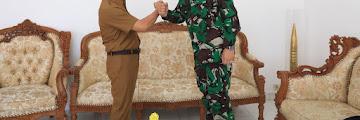 Kunjungan Silahturahmi Komandan Lantamal XIII Tarakan