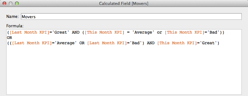 Tableau Tip: Month over Month KPI Movers