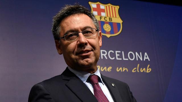 Former Barcelona president Josep Bartomew