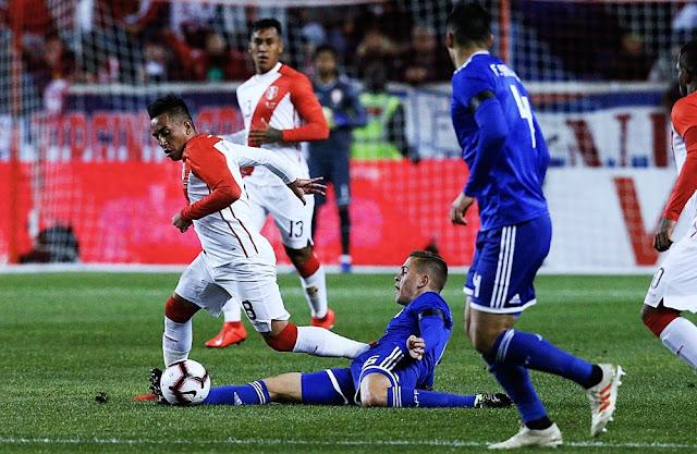Perú gana 1 a 0 a su similar de Paraguay en partido amistoso