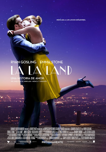 Spanish La La  Land movie poster