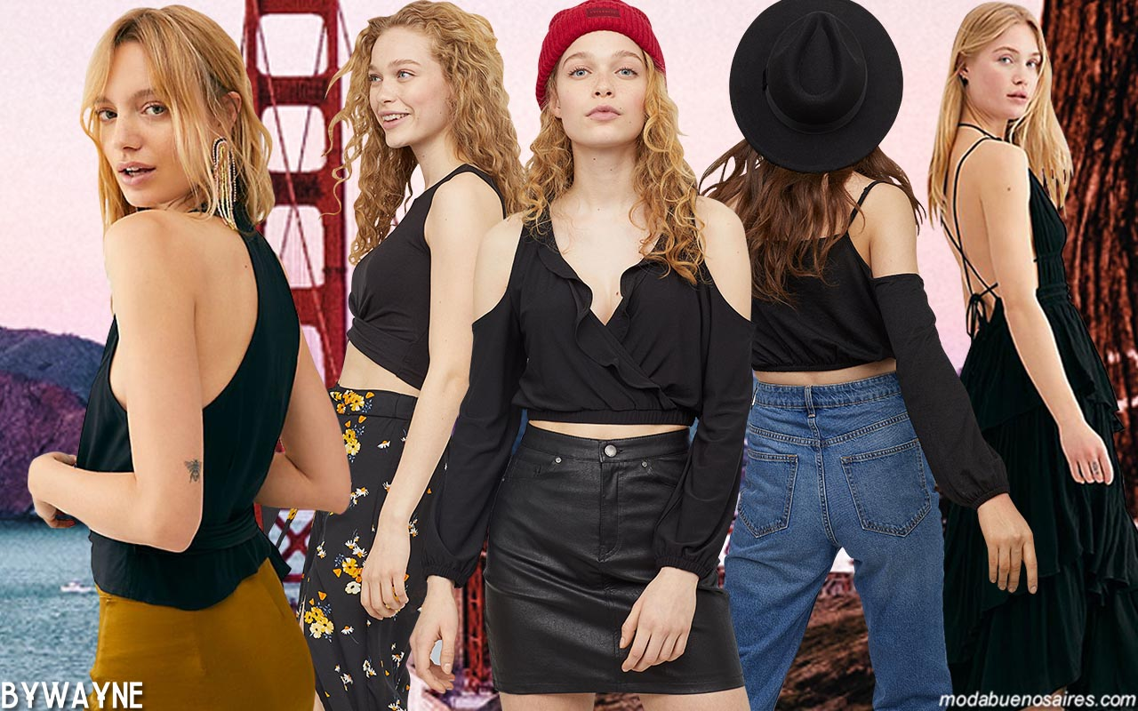 Colores de moda mujer primavera verano 2020. Moda 2020.