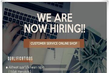 Lowongan Kerja Bandung Customer Service Online Shop