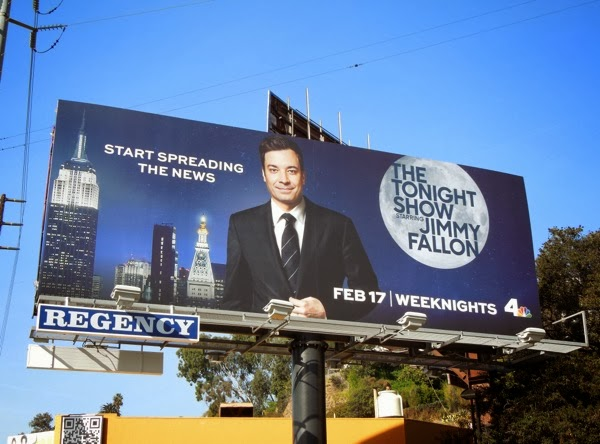 Tonight Show starring Jimmy Fallon billboard