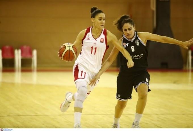 Ανετη επικράτηση επί του ΠΑΟΚ για τις γυναίκες του Ολυμπιακού-Η βαθμολογία της Α1 γυναικών-Τι δήλωσαν Παντελάκης και Γέμελος