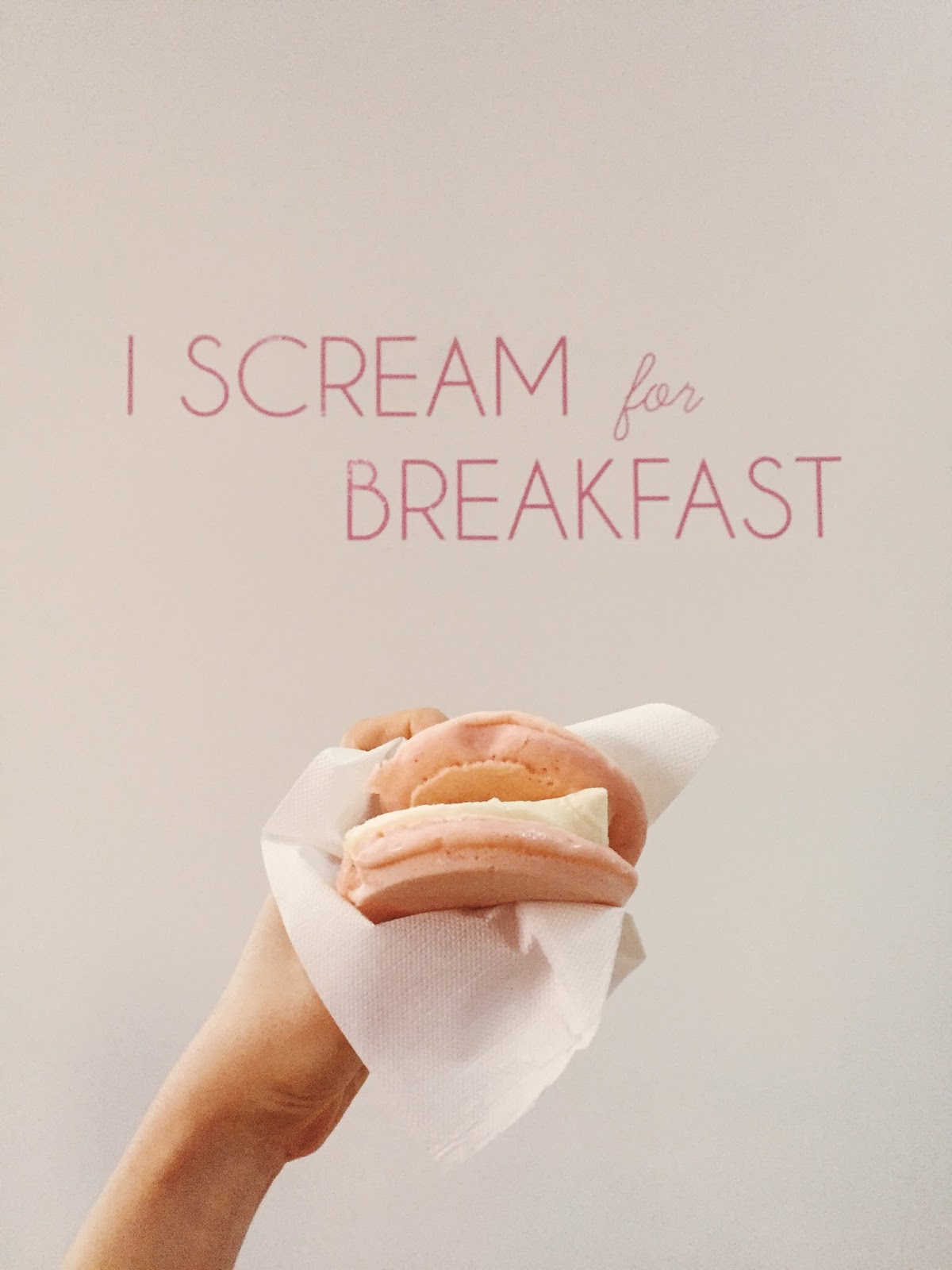I Scream for Breakfast_Museum of Ice Cream_Adrienne Nguyen_Invictus_Pharmacy Blog_Travel Blogger_Pancake Ice Cream Sandwich_Food Blogger