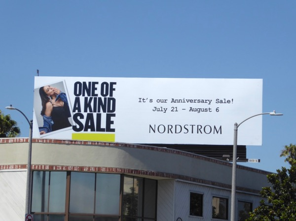 Ashley Graham Nordstrom anniversary sale billboard