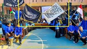 Kibarkan Bendera Tauhid Khas HTI di Halaman Sekolah, Siswa MAN 1 Sukabumi Terpapar HTI?