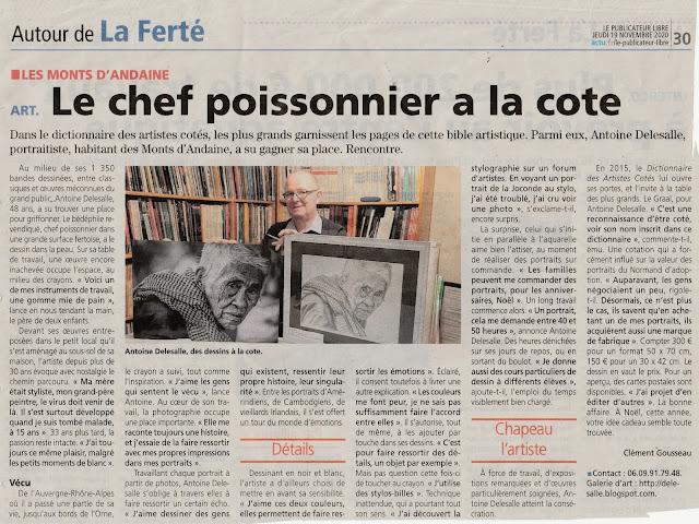 Le publicateur libre, Delesalle Antoine