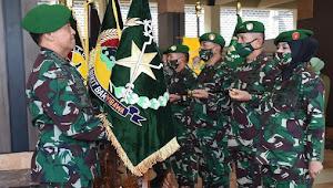 Upacara Serah Terima Jabatan 9 Pangkotama, Asisten, Kabalakpus Dan Kenaikan Pangkat 56 Pati TNI AD