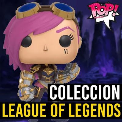 Coleccion funko pop de league of legends lista completa