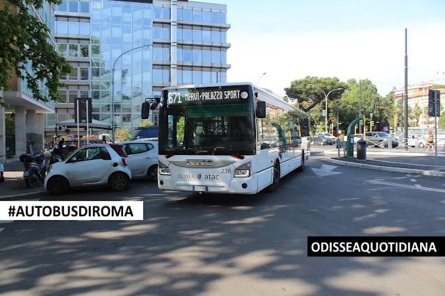 """#AutobusDiRoma - Iveco Urbanway, i 10 mezzi palermitani in """"esilio"""" a Roma"""