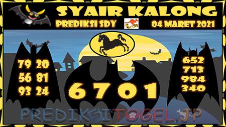 Prediksi Kalong Sydney Kamis 04-Mar-2021
