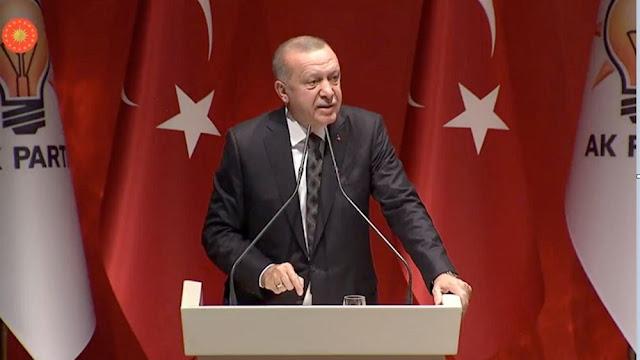 Ερντογάν: Η Τουρκία δεν είναι νομαδικό κράτος