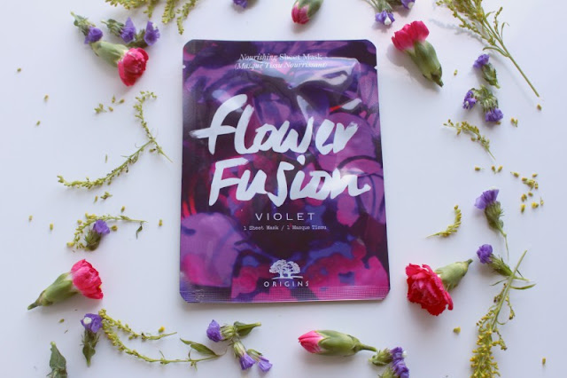 Origins Flower Fusion Hydrating Sheet Masks Review
