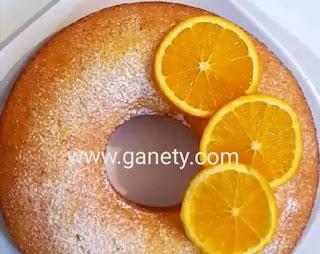 طريقة عمل كيكة البرتقال الهشة اللذيذة