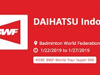 Jadwal Final DAIHATSU Indonesia Masters 2019