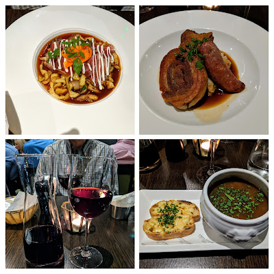Where to eat in Limerick City Ireland: Dinner at French Table